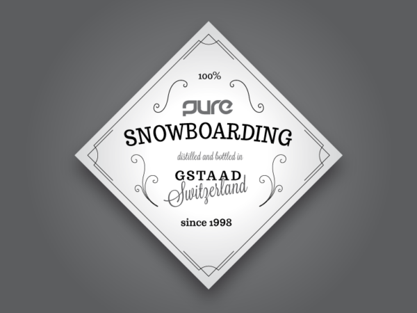 Pure Snowboarding Stickers