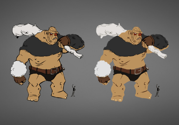 Giant – Character Design