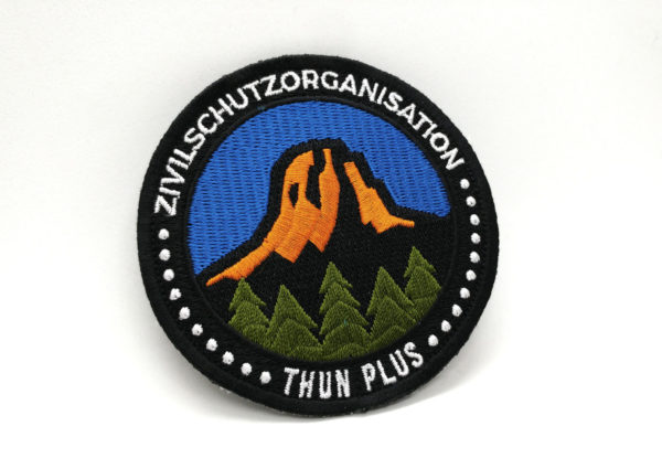 Zivilschutz Thun Patch