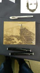 «Lighthouse», custom sketch for Thomas
